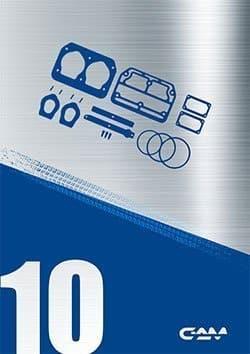 Cataloghi kit riparazione compressori Gamtechnic